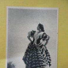 Postales: POSTAL BLANCO Y NEGRO. COLECCIÓN TRAJES REGIONALES. FOURNIER. Lote 44307884