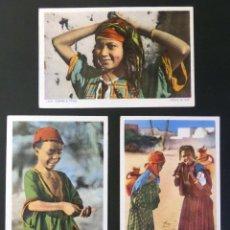 Postales: 4 ANTIGUAS POSTALES DE ESCENAS TIPICAS, EDITADAS EN FRANCIA. SIN CIRCULAR, VER FOTOGRAFIAS. Lote 45099815