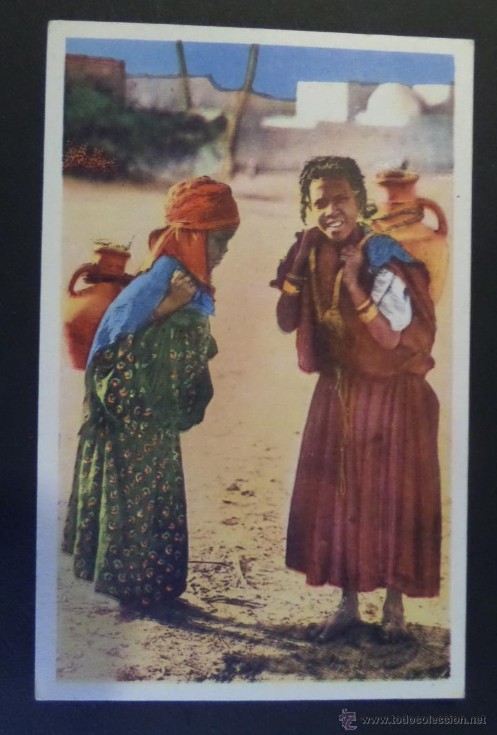 Postales: 4 antiguas Postales de Escenas Tipicas, editadas en Francia. Sin circular, ver fotografias - Foto 3 - 45099815