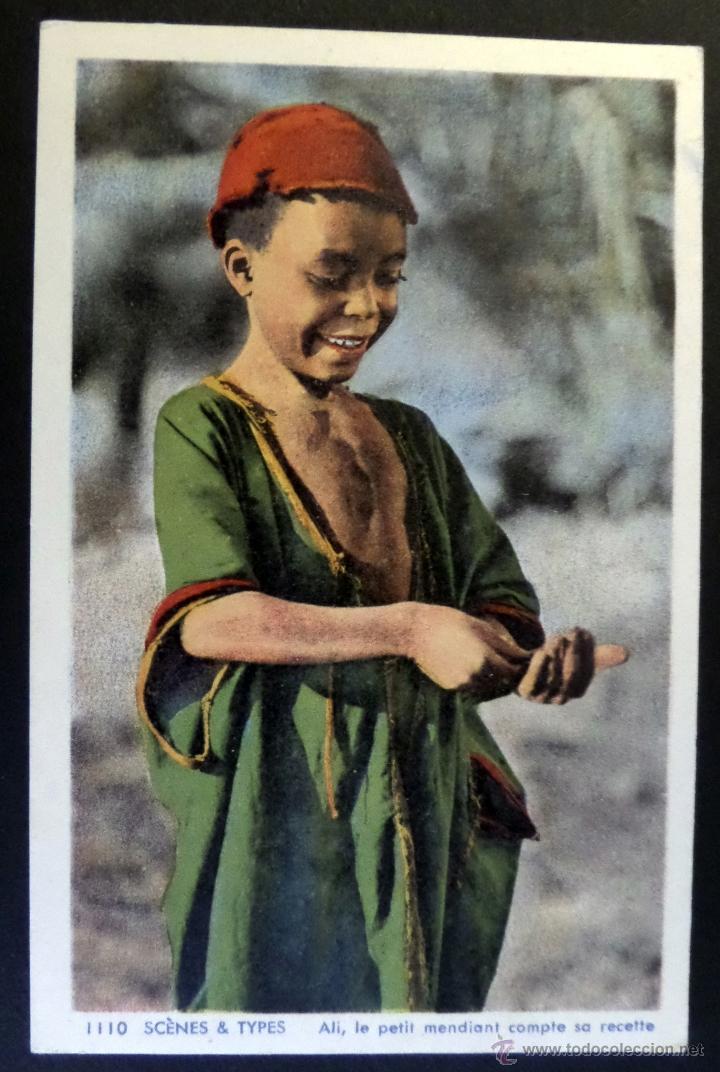 Postales: 4 antiguas Postales de Escenas Tipicas, editadas en Francia. Sin circular, ver fotografias - Foto 4 - 45099815