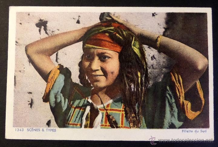 Postales: 4 antiguas Postales de Escenas Tipicas, editadas en Francia. Sin circular, ver fotografias - Foto 6 - 45099815