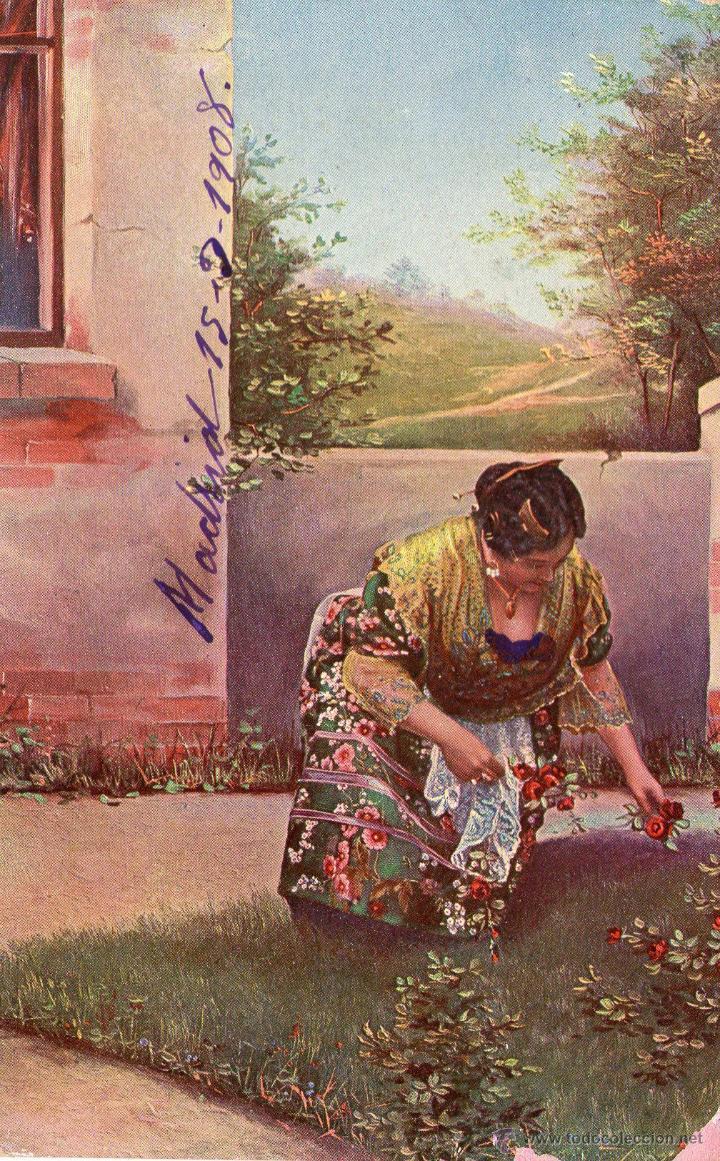 Postales: LOTE DE 3 POSTALES TIPICAS AGUADOR, TIPOS...1908 FRANQUEADAS - Foto 3 - 45242616