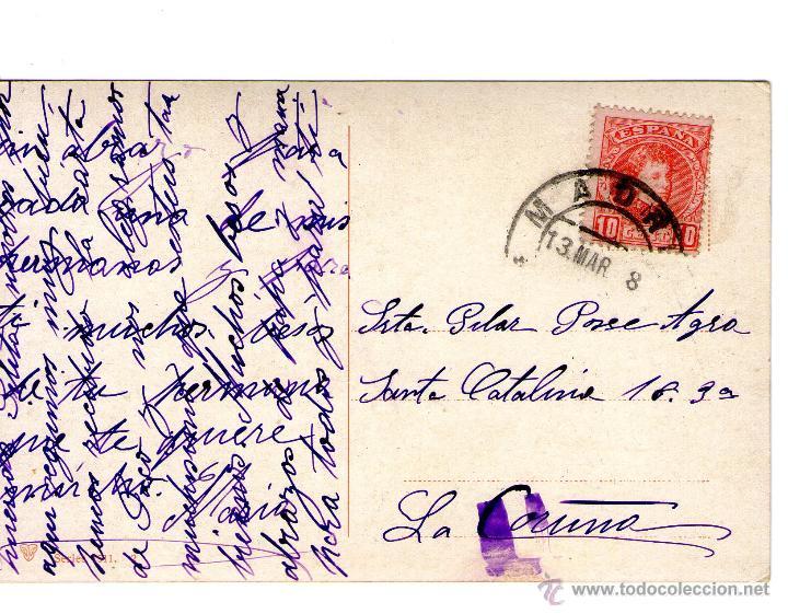 Postales: LOTE DE 3 POSTALES TIPICAS AGUADOR, TIPOS...1908 FRANQUEADAS - Foto 5 - 45242616