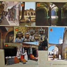 Postales: COLECCION DE 8 POSTALES SIN CIRCULAR ESCUDO DE ORO, COLECCIÓN AFRICA . VER FOTOS Y COMENTARIOS. Lote 46677451