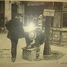 Postales: POSTAL SIN CIRCULAR - FRANCIA - LIMPIABOTAS MANDADERO. Lote 47816966