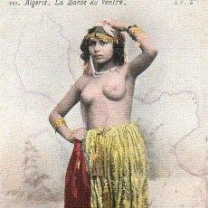 Postales: ARGELIA . LA DANZA DEL VIENTRE. Lote 192932901