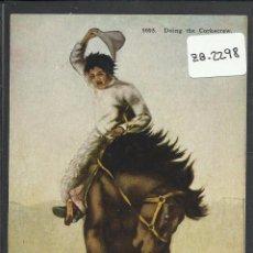 Postales: VAQUERO AMERICANO - COWBOY - (ZB-2298). Lote 49449197