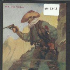 Postales: VAQUERO AMERICANO - COWBOY - (ZB-2303). Lote 49449853
