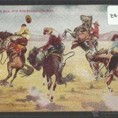 Postales: VAQUEROS AMERICANOS - COWBOYS - (ZB-2304). Lote 49449871