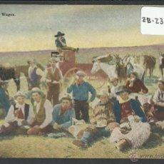 Postales: VAQUEROS AMERICANOS - COWBOYS - (ZB-2309). Lote 49449925