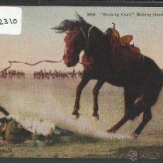 Postales: VAQUEROS AMERICANOS - COWBOYS - (ZB-2310). Lote 49449931