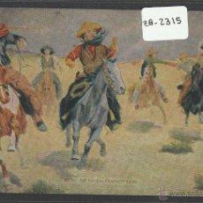 Postales: VAQUEROS AMERICANOS - COWBOYS - (ZB-2315). Lote 49450112