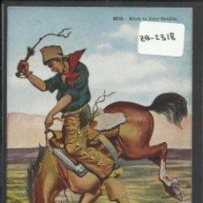 Postales: VAQUEROS AMERICANOS - COWBOYS - (ZB-2318). Lote 49450305