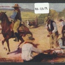 Postales: VAQUEROS AMERICANOS - COWBOYS - (ZB-2319). Lote 49450318