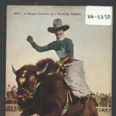 Postales: VAQUEROS AMERICANOS - COWBOYS - (ZB-2320). Lote 49450329