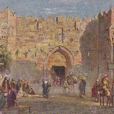Postales: JERUSALEM, ESCRITA EN 1914. Lote 50919810