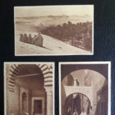 Postcards - Lote de 3 antiguas postales sin circular de estampas arabes. - 50970028