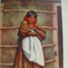 Postales: A CHEMEHUEVE INDIAN GIRL. Lote 54059364