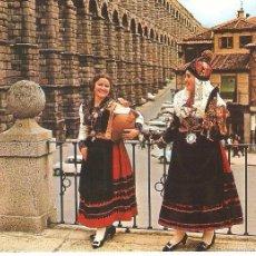 Postcards - SEGOVIA, MUCHAHAS TIPICAS, SIN CIRCULAR - 55357343