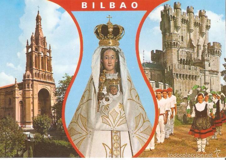 BILBAO, POSTAL RECUERDO, SIN CIRCULAR (Postales - Postales Temáticas - Étnicas)