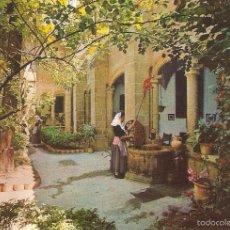 Cartoline: VALLDEMOSA, MALLORQUINA EN LOS JARDINES DE LA CARTUJA, , SIN CIRCULAR. Lote 57112806