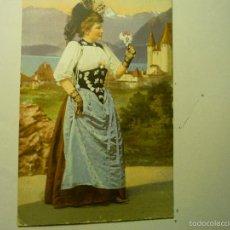 Postales: POSTAL ALEMANA BERNERIN-CON SELLO BB. Lote 57307136