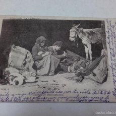 Postales: POSTAL, COLECCIÓN LA TIERRUCA, INDUSTRIAS TRASHUMANTES, FOTOGRAFIA LAURENT, MADRID, CIRCULADA 1902.. Lote 59126170