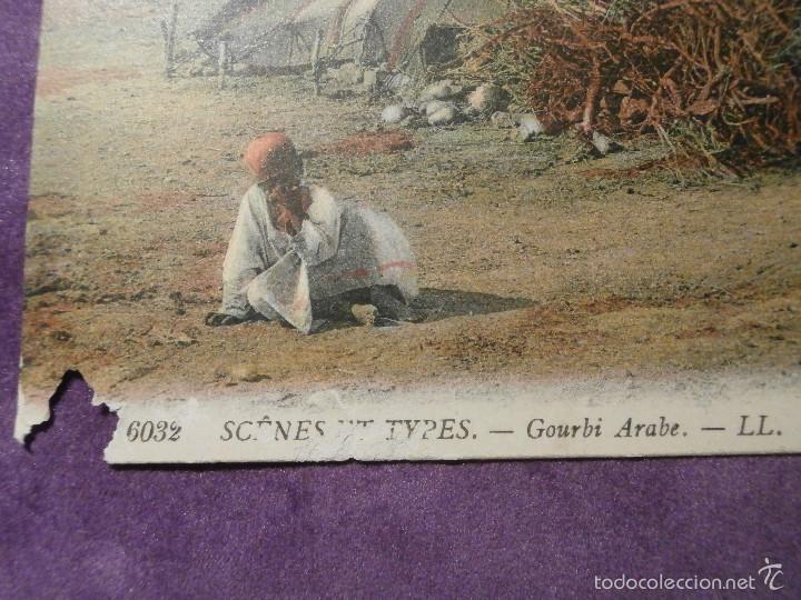 Postales: POSTAL - ETNICA - 6032 SCENES ET TYPES - GOURBI ARABE - LL - PRINCIPIOS SIGLO XX - - Foto 3 - 61259863