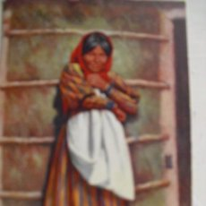 Postales: A CHEMEEHUEVI INDIAN GIRL. Lote 61431839