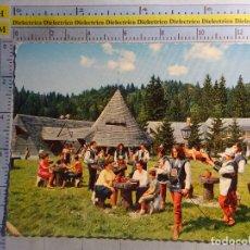 Postales: POSTAL ÉTNICA. RUMANÍA, RESTAURANTE SURA DANCILOR. 1093. Lote 62463448
