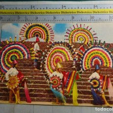Postales: POSTAL ÉTNICA. MÉXICO, LA DANZA DEL QUETZAL, ESTADO DE PUEBLA. 1098. Lote 62464320