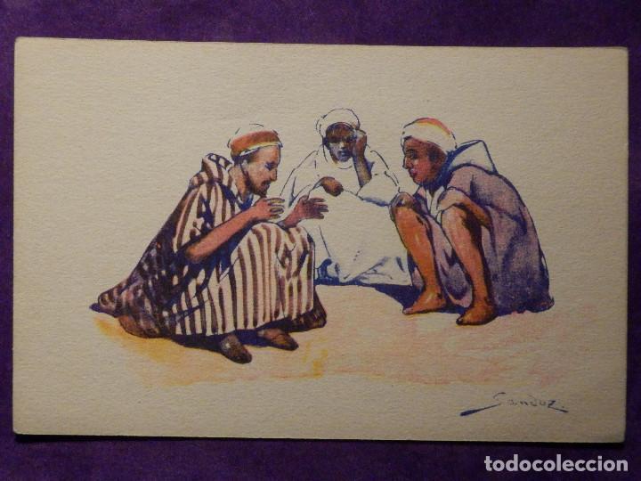 POSTAL - ETNICA - CIE GLE TRASATLANTIQUE - NORD AFRICAINS - DEVAMBEZ, PARIS - ALREDEDOR DEL AÑO 1910 (Postales - Postales Temáticas - Étnicas)