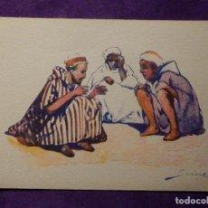 Postales: POSTAL - ETNICA - CIE GLE TRASATLANTIQUE - NORD AFRICAINS - DEVAMBEZ, PARIS - ALREDEDOR DEL AÑO 1910. Lote 63159204