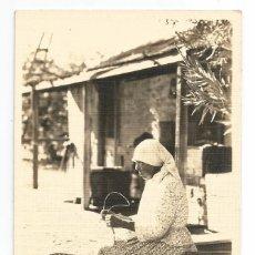 Postales: INDIAN BASKET MAKER .- PALM SPRINGS CALIFORNIA .- Nº 52 POSTAL FOTOGRAFICA . Lote 63476640
