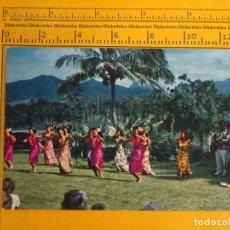 Postales: POSTAL DE ESTADOS UNIDOS. ÉTNICA. ABORÍGENES DE HAWAII, DANZA SANCING UNDER THE SKY. 1178. Lote 66207770