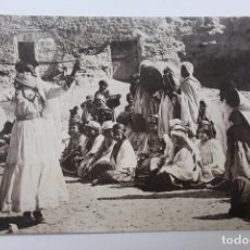 Postales: P- 6373. POSTAL DANSE DES OULED NAÏLS. REAL PHOTO Nº 1284.. Lote 73765103