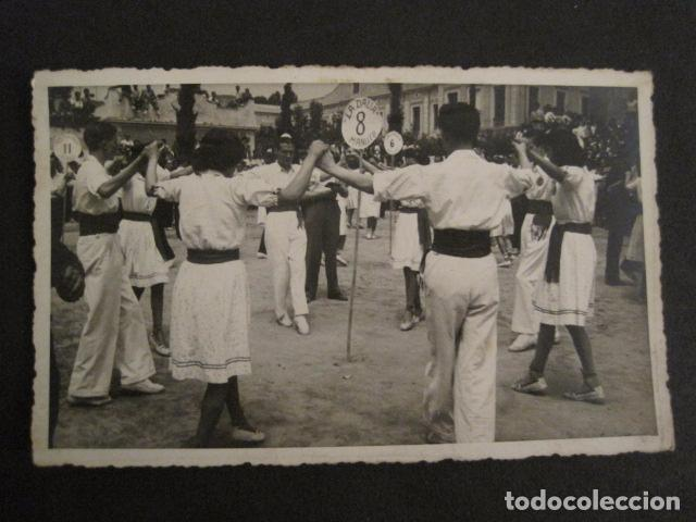 POSTAL SARDANAS -FOTOGRAFICA - VER REVERSO - (46.356) (Postales - Postales Temáticas - Étnicas)