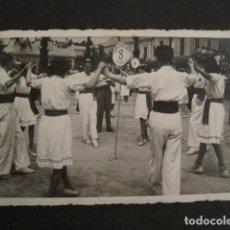 Postales: POSTAL SARDANAS -FOTOGRAFICA - VER REVERSO - (46.356). Lote 74175203