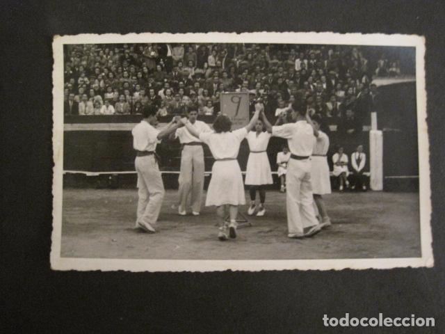 POSTAL SARDANAS -FOTOGRAFICA - VER REVERSO - (46.359) (Postales - Postales Temáticas - Étnicas)