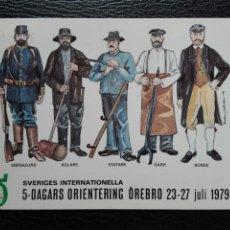 Postales: POSTAL SUECA PROFESIONES 1979. Lote 74677447