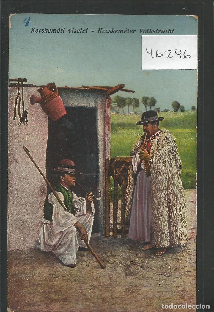 POSTAL COSTUMBRISTA - -VER REVERSO-(46.246) (Postales - Postales Temáticas - Étnicas)