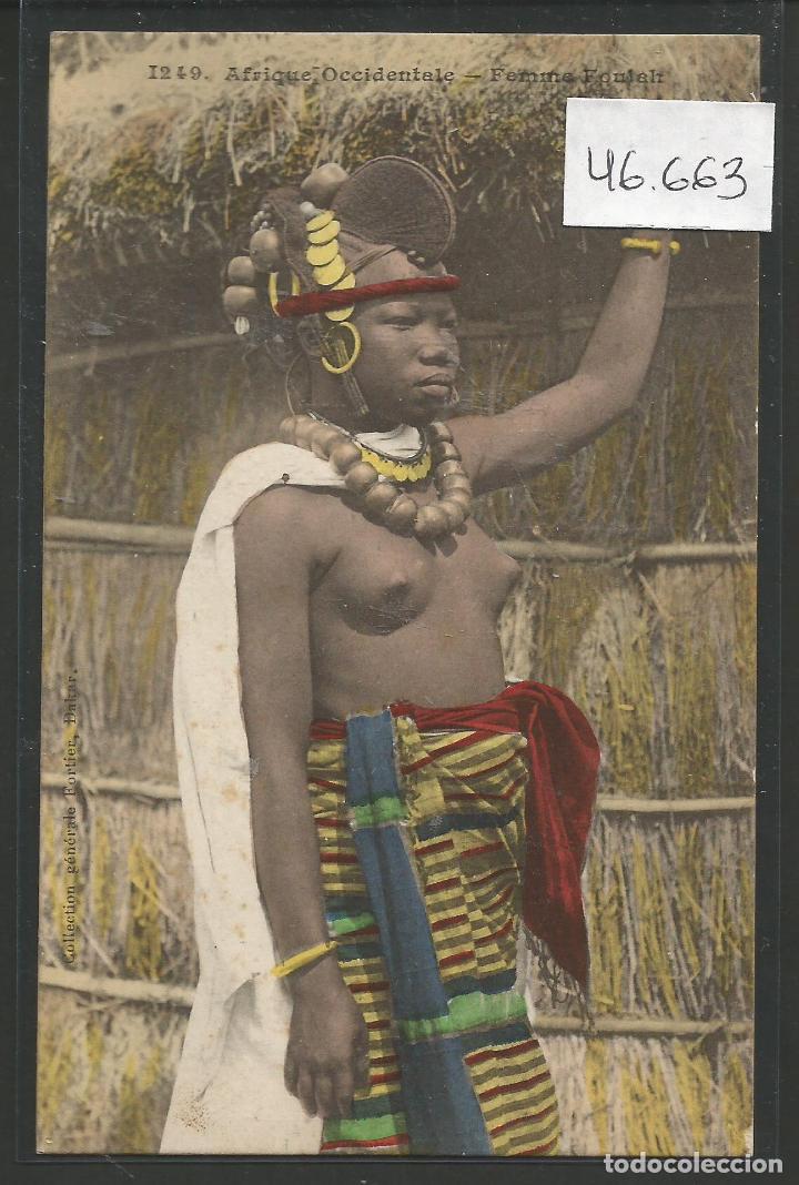 POSTAL ETNICA - COSTUMBRES - VER REVERSO - (46.663) (Postales - Postales Temáticas - Étnicas)