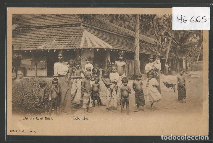 POSTAL ETNICA - COSTUMBRES - VER REVERSO - (46.665) (Postales - Postales Temáticas - Étnicas)