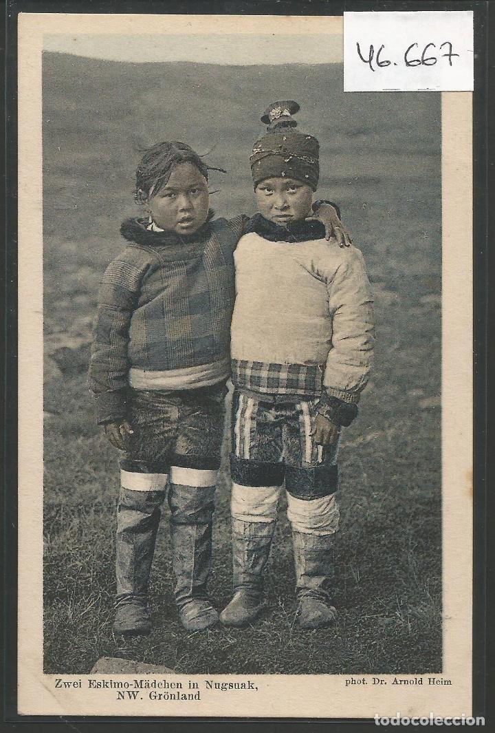 POSTAL ETNICA - COSTUMBRES - VER REVERSO - (46.667) (Postales - Postales Temáticas - Étnicas)