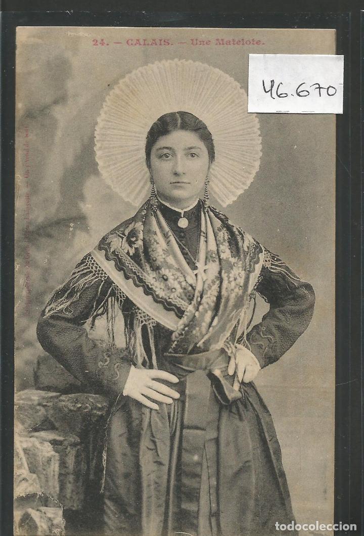 POSTAL ETNICA - COSTUMBRES - VER REVERSO - (46.670) (Postales - Postales Temáticas - Étnicas)