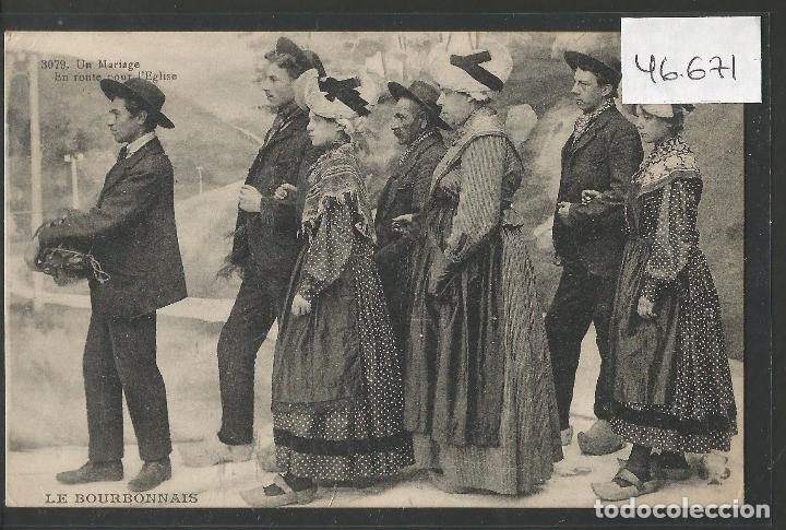 POSTAL ETNICA - COSTUMBRES - VER REVERSO - (46.671) (Postales - Postales Temáticas - Étnicas)