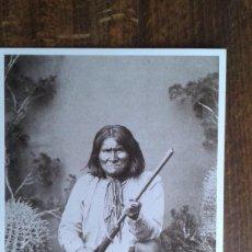 Postales: POSTAL DE DEL OESTE AMERICANO DE AZUSA - POST CARD DE GERONIMO. Lote 76967433