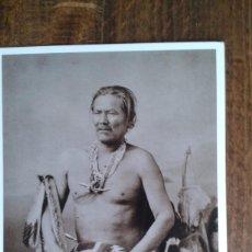 Postales: POSTAL DE DEL OESTE AMERICANO DE AZUSA - POST CARD DE JEFE INDIO MANUELITO. Lote 76967665