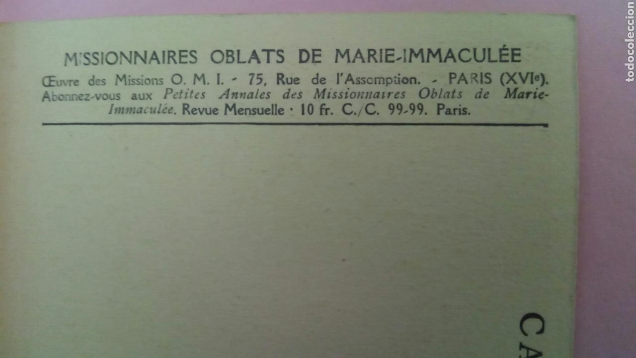 Postales: Siete Postales missions de Ceylan missionnaire oblats Maria Inmaculada Misioneros - Foto 3 - 78417109
