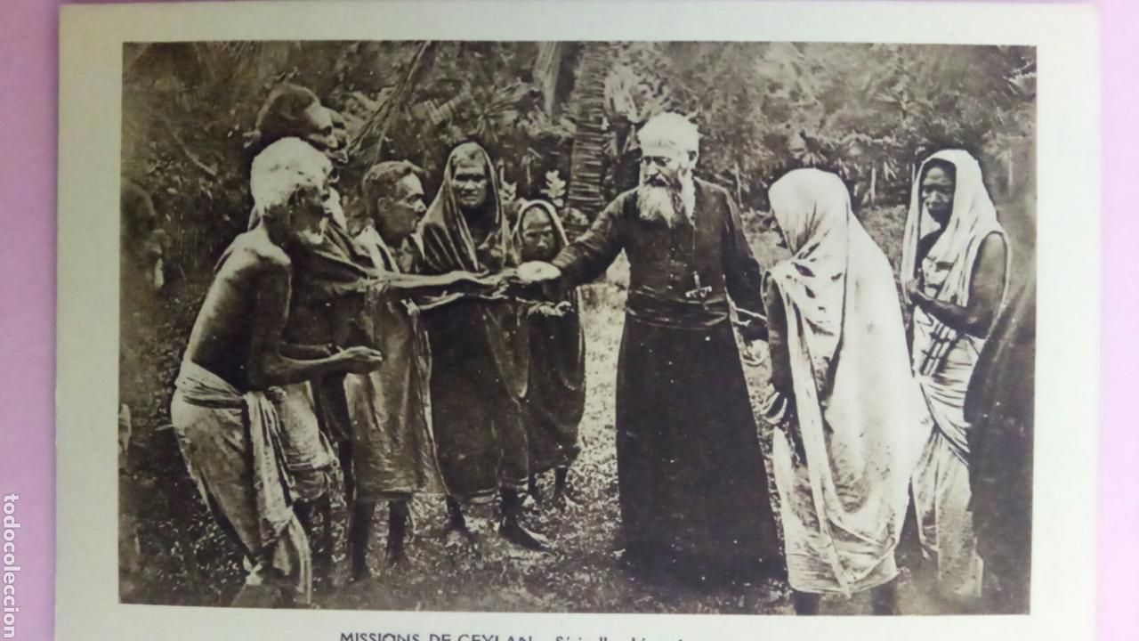 Postales: Siete Postales missions de Ceylan missionnaire oblats Maria Inmaculada Misioneros - Foto 4 - 78417109